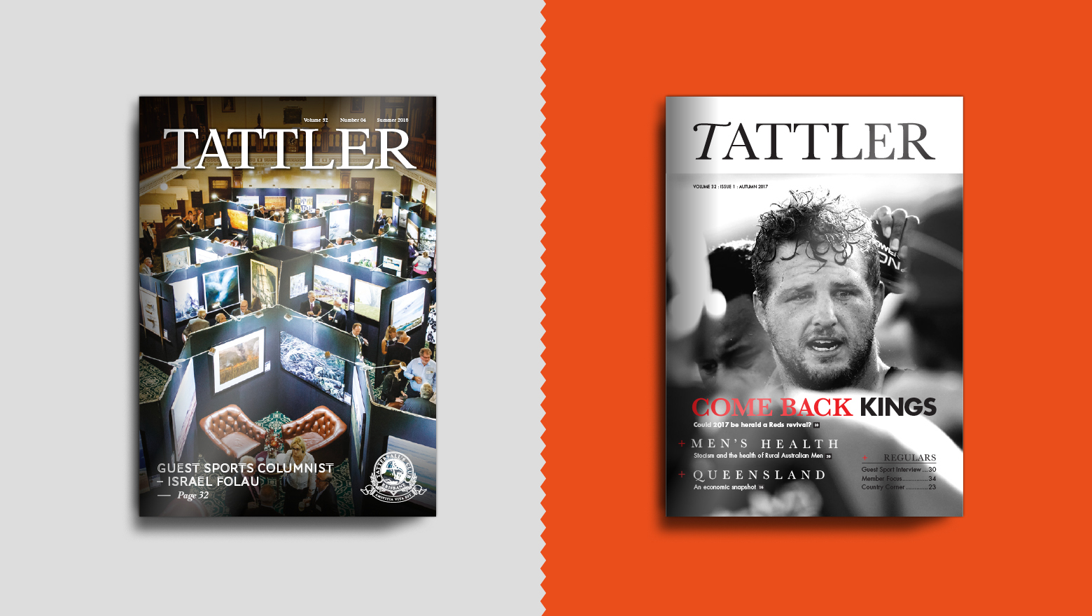 Tattler old to new cover
